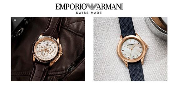 Emporio Armani Swiss Made Saatler