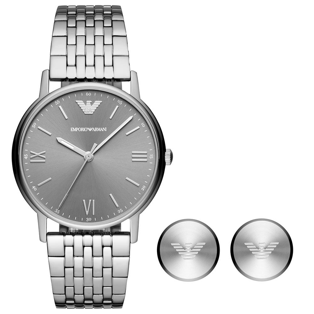 AR80030 Erkek Set Kol Saati ve Kol Düğmesi