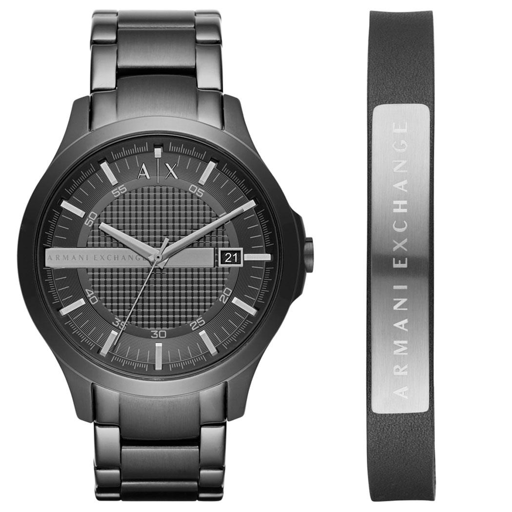 AX7101 Erkek Set Kol Saati ve Bileklik