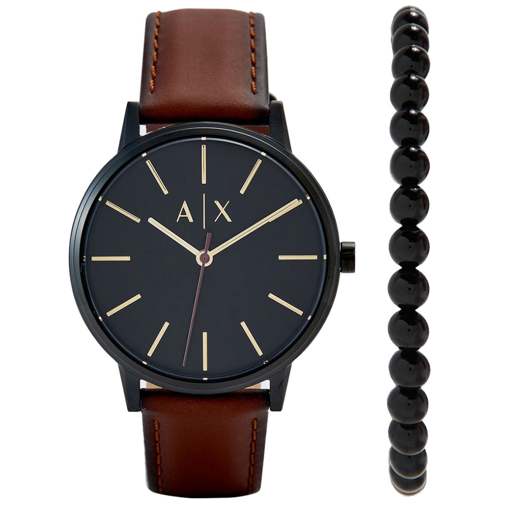 AX7115 Erkek Set Kol Saati ve Bileklik