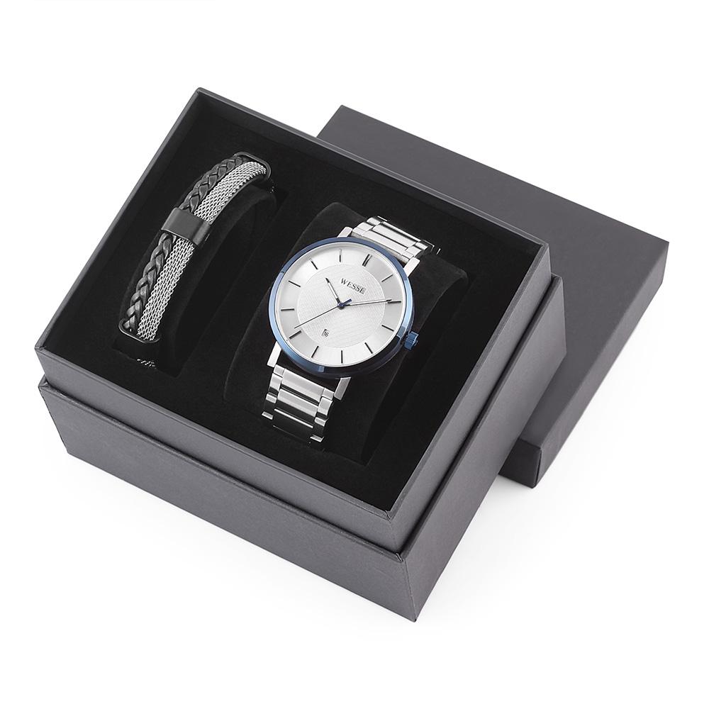 SWWG204705 Erkek Set Kol Saati ve Bileklik